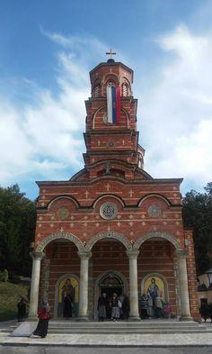 Црква Покрова Пресвете Богородице, манастир Ђунис