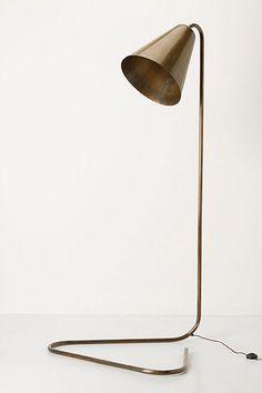Gilded Glow Floor Lamp #anthropologie