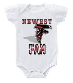 NEW Football Baby Onesie Creeper NFL Atlanta Falcons #2