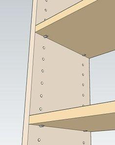 棚をDIYで自作するときの作り方の基本。   Lifeなび Shelves, How To Make, Home Decor, Shelving, Decoration Home, Room Decor, Shelving Units, Home Interior Design, Planks