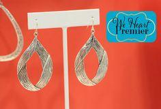 Flourish earrings #PDstyle