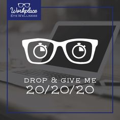 March is Workplace Eye Wellness Month! Protect your eyes with the 20/20/20 rule: every 20 minutes focus on something 20 feet away for 20 seconds!  #ZionsvilleEyecare