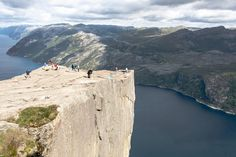 Preikestolen, Norway If the Norse god Thor so much as sneezes while you're on the top of this cliff, you'll be in for quite the fall from grace.
