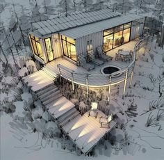 Architecture Design Concept, Landscape Architecture Model, Architecture Drawing Sketchbooks, Water Architecture, Conceptual Architecture, Landscape Architecture Drawing, Architecture Concept Drawings, Computer Architecture, House Architecture