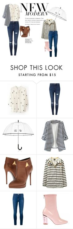 """""""looks diarios"""" by katherinc23fashion ❤ liked on Polyvore featuring Miss Selfridge, Kate Spade, WithChic, Giuseppe Zanotti, Joules, Frame Denim, Forever 21, women's clothing, women and female"""