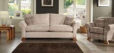 Linea Laine 3 Seater Standard Back Fabric Sofa | House of Fraser | Sofas, Furniture and Flooring