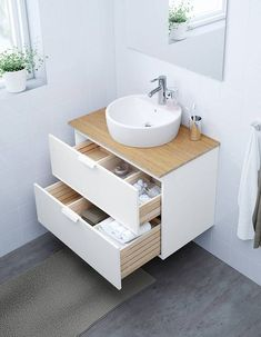 IKEA offers everything from living room furniture to mattresses and bedroom furniture so that you can design your life at home. Check out our furniture and home furnishings! White Vanity Bathroom, Small Bathroom, Bathroom Cost, Loft Bathroom, Vanity Countertop, Ikea Us, Bathroom Renos, Home Furnishings, New Homes