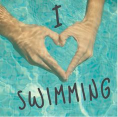 Swimming is one of my favorite things to do.. I need to move somewhere I can swim all year round outside.
