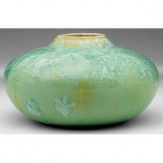 Adelaide Alsop Robineau Vase, Low Bulbous Shape