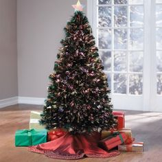 Brylanehome Pre-Lit 5' Fiber Optic Christmas Tree - http://www.christmasshack.com/christmas-trees/fiber-optic-christmas-trees/brylanehome-pre-lit-5-fiber-optic-christmas-tree/