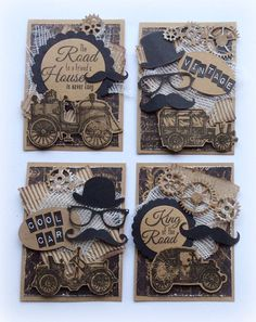 Noor! Design ATC Cards door Jolanda Bergmans