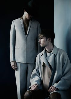 Dior Homme is Pure Minimalism for Les Essentiels 3 with Timothy Kelleher & Mischa Patel