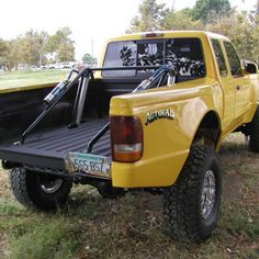 97 Ranger shortbed sides, bulged 5 inches and wheel well raised 3 inches. Ford Ranger, Body Parts, 4x4, Monster Trucks, Parts Of The Body