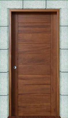 Interior wood doors are naturally beautiful. Flush Door Design, Home Door Design, Bedroom Door Design, Interior Door Styles, Door Design Interior, Interior Barn Doors, Wooden Front Door Design, Wooden Front Doors, Wood Doors