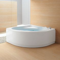Corner Bathtub Dimensions | Bathtub with frame, corner panel, thermostatic mixer, without drain ...