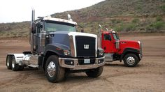 The recently released #Caterpillar CT680 #CatTrucks #Trucking #Products