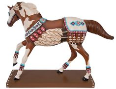 Spirit of the Chief Limited Edition Painted Pony By Lorna Matsuda From Tribal Impressions- review off of: http://www.indianvillagemall.com/statue/ppspiritofthechief.html    You can review the complete line of Painted Ponies -watch some videos about them and learn their history off of: http://www.indianvillagemall.com/statue/ppmenu.html