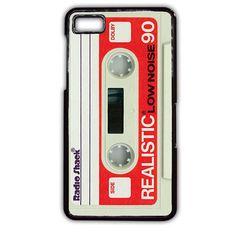 Casette White TATUM-2434 Blackberry Phonecase Cover For Blackberry Q10, Blackberry Z10