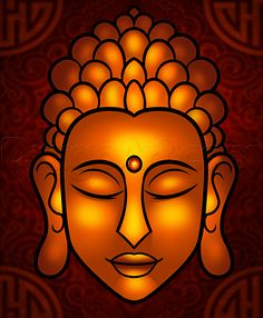 How to Draw Buddha Easy, Step by Step, Faces, People, FREE Online ...
