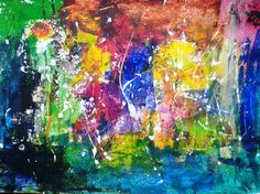 "Saatchi Online Artist shekhar pawar; Painting, ""Particles are on their way"" #art"