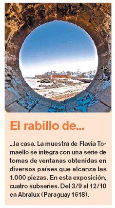 """El Diario """"La Razón"""" de Argentina recomienda """"El rabillo de la casa 2"""" en Abralux, Paraguay 1618 (desde el 3 de septiembre hasta el 12 de octubre abierta de Lun. a Vie. de 9 a 18hs y Sab. de 10 a 13hs.)."""