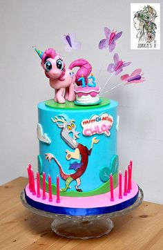 My Little Pony cake - Cake by Hajnalka Mayor