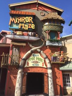 Check out our newest tenant Island Mirror Maze now open on The Island in Pigeon Forge!!!
