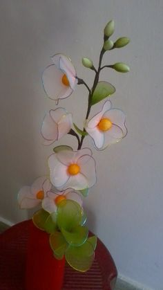 Stocking flowers / Nylon Flowers — Craftziners