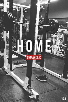 Sometimes I don't always feel like I have a home, like I don't belong in either place, but the gym with become my home #GymLife