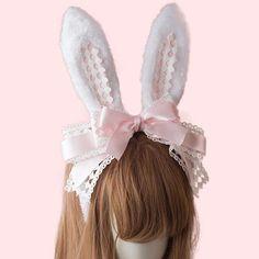 Luxury Boutique per fine lingerie Lolita Cosplay, Kawaii Fashion, Lolita Fashion, Kawaii Accessories, Hair Accessories, Style Lolita, Street Style Store, Lolita Hair, Lace Hair