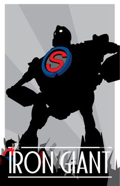 The Iron Giant - movie poster - CuddleswithCats.deviantart.com
