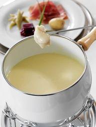 comfort food - cheese fondue