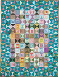 Stripe Love quilt by Beth Shibley.  McCall's Quilting September/October 2015.