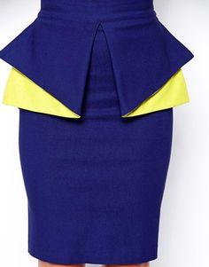 Vesper Cobalt Blue Co-ord Short African Dresses, African Fashion Designers, Latest African Fashion Dresses, African Print Skirt, African Print Dresses, African Print Fashion, Classy Work Outfits, African Attire, Cobalt Blue