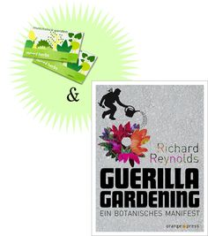 'Guerilla Gardening' + 2x Streichholzgarten - S.W.W.S.W.