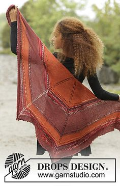Ravelry: 173-35 Dragon Fire pattern by DROPS design