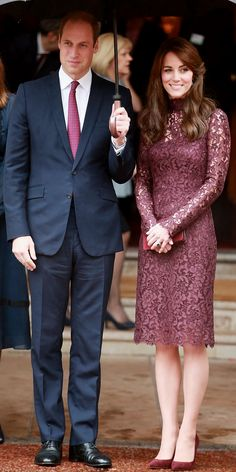 Kate Middleton's Most Memorable Outfits - October 21, 2015 from InStyle.com