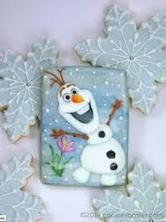 disney frozen cookies with isomalt - Google Search