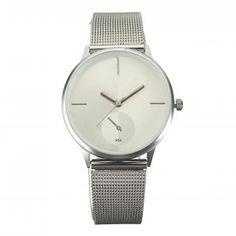 Mujeres Moda clásico Acero inoxidable Relojes de cuarzo  Reloj analógico de pulsera19.000