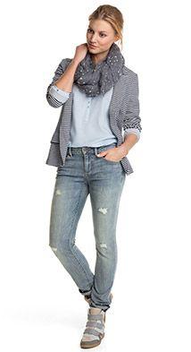 Esprit / Jeans in de used-look