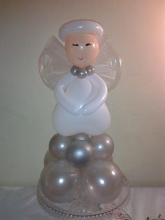Lovely Balloon Angel #Christmas Balloon Decor