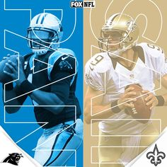 2017 Playoffs ~ Panthers vs. Saints at 4:40 PM ET on FOX. Sunday 1/7/18  WhoDat!!!
