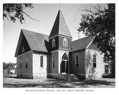 Colorado College Tutt Library - Century Chest -- United Nrethren Church at 419-421 South Cascade Ave. Colorado Springs, CO (c. 1900) Colorado College, Sabbatical, Pikes Peak, Colorado Springs, Denver, The Unit, Mansions, History, House Styles