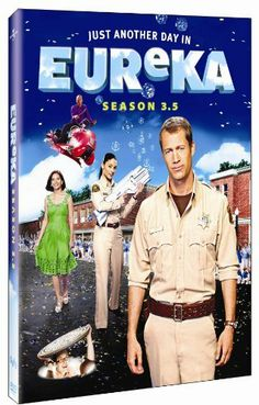 Eureka When he takes the job of sheriff of the little town of Eureka, Ore. marshal Jack Carter (Colin Ferguson) discovers that the community's quiet citizens are actually brilliant scientists working for a dangerous top-secret research facility. Eureka Tv Series, Eureka Show, Fantasy Tv, Sci Fi Shows, Sci Fi Series, Star Wars, Watch Tv Shows, Netflix Movies, Fun Movies