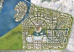 Masterplan Dubai Creek Harbour