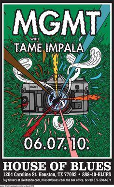 MGMT and Tame Impala- Houston