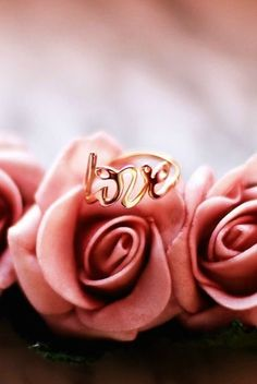 Love Is The Answer Ring #fashion #rosegold #delicate #rings - 18,90 @happinessboutique.com