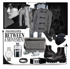 """▲☆•☜◄☺►☞•☆▲"" by missanacreativityinstyle ❤ liked on Polyvore featuring Faith Connexion, Gucci, Neil Barrett, Topman, Wilsons Leather, Larsson & Jennings, Black, FOSSIL, Ted Baker and men's fashion"