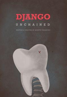 Django Unchained - movie poster - Vincent Gabriele