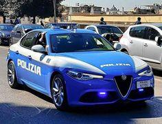 Alfa Romeo Giulia Polizia